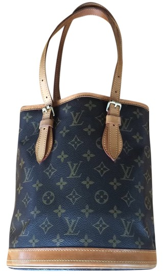Preload https://item4.tradesy.com/images/louis-vuitton-bucket-signature-brown-leather-tote-4622803-0-0.jpg?width=440&height=440