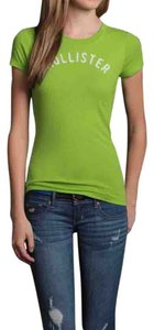 Hollister Applique T Shirt Green