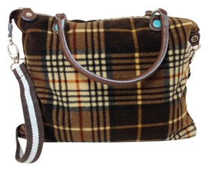 Wool Leather Italy Shoulder Bag