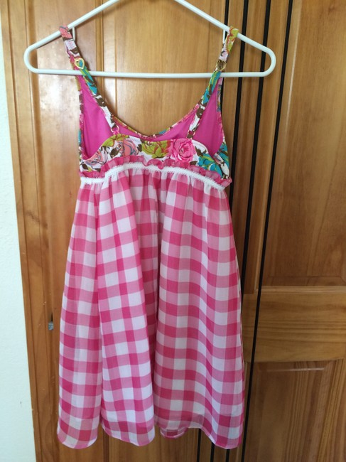 Betsey Johnson short dress Pink, White, Turquoise, Peach (multi color) on Tradesy