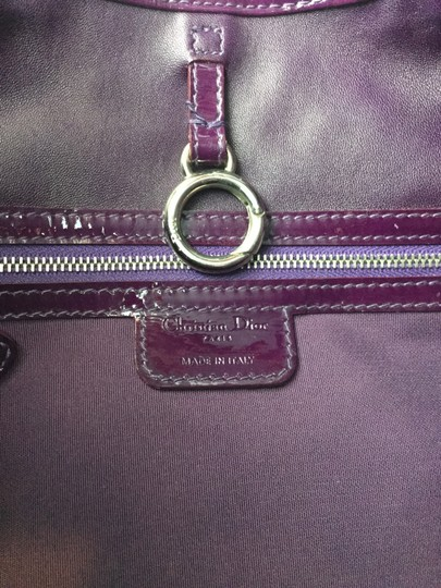 Dior Christian Limited Edition Satchel in Purple