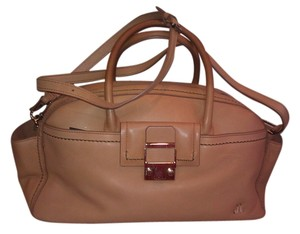 Lanvin Satchel in Tan/Gold