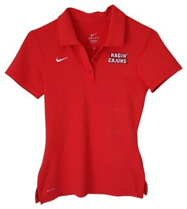 Nike Rajin Cajun Dri-fit Polo T Shirt red