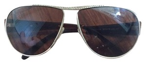Escada Brown Escada Aviator Sunglasses