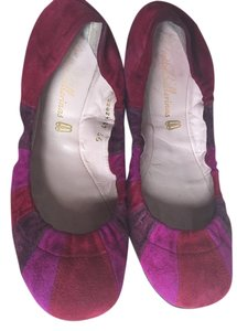 Pretty Ballerinas Ballet Bendy Ballerinas pink purple multi Flats
