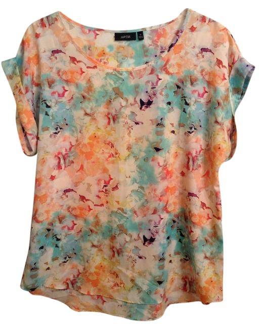 Apt. 9 Polyester Top Floral print