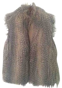 Michael Kors Faux Fur Faux Rabbit Chic Vest