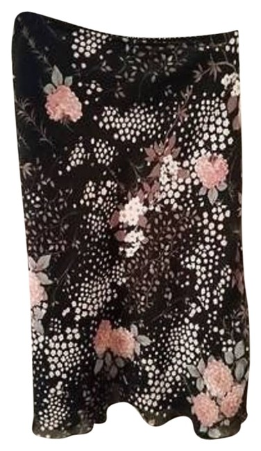 Old Navy Skirt black floral