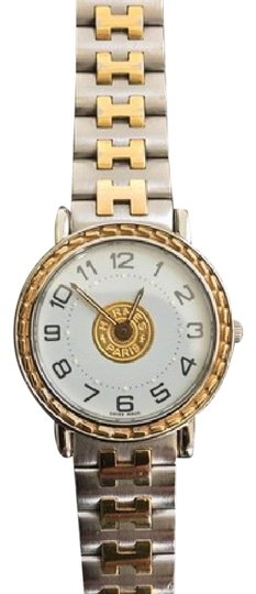 Preload https://item1.tradesy.com/images/hermes-gold-and-stainless-steel-serie-watch-4626475-0-2.jpg?width=440&height=440