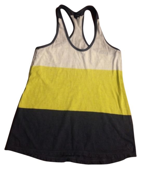 American Eagle Outfitters Top Blue, white, yellow