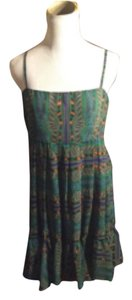 BB Dakota short dress MULTI GREEN/ORANGE/BLUE/PURPLE on Tradesy