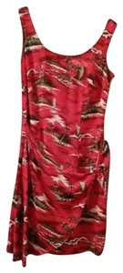 Rampage short dress Red/print on Tradesy