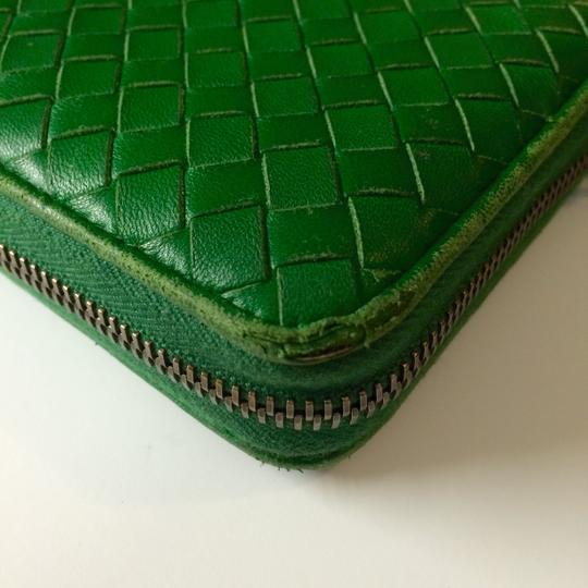 Bottega Veneta Bottega Veneta Irish Intrecciato Nappa Zip Around Wallet