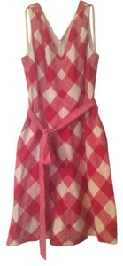 Talbots short dress Red gingham on Tradesy