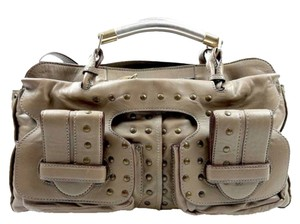 Chloé Satchel in Light grey