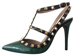 Valentino Emerald Green Pumps