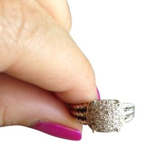 David Yurman David Yurman Petite Wheaton Ring with Diamonds