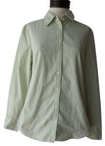 Tommy Hilfiger Button Down Shirt Light Green