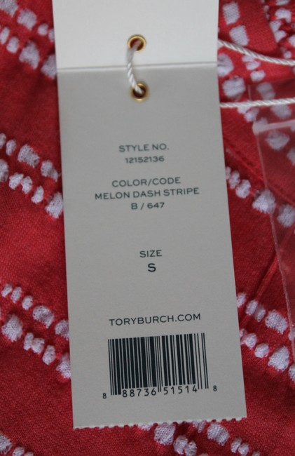 Tory Burch T Shirt MELON DASH STRIPE 647