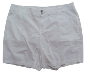 Lane Bryant Cargo Shorts White