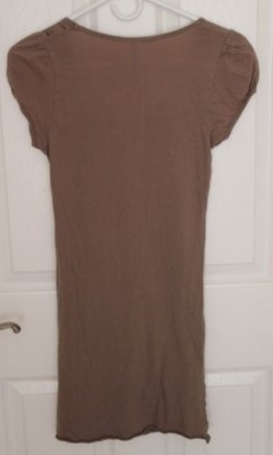 Other short dress Brown with design on Tradesy