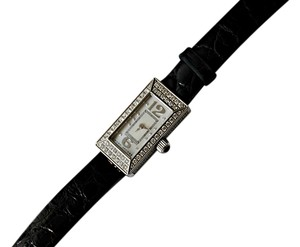 Marc by Marc Jacobs Genuine Marc Jacobs MJ1004 0.83 Carat Diamond Black Leather Strap Watch