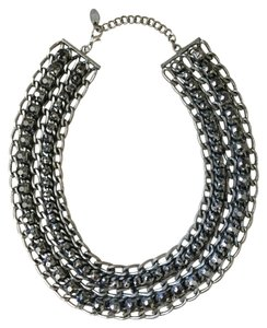 Zara Chain collar with crystals