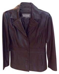 Wilsons Leather Dark brown Leather Jacket