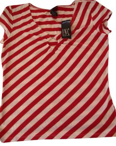 INC International Concepts Top red and white
