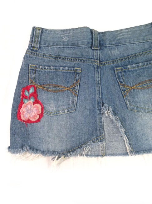 Abercrombie & Fitch Mini Skirt bue