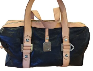 L.A.M.B. Satchel in Black and tan
