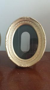 Gold Oval Frames (set Of 16) - Brand New!