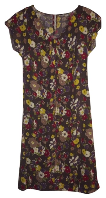 Boden short dress Purple floral on Tradesy