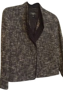 Talbots Tweed Black and White Blazer