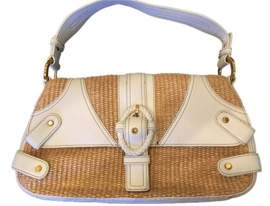 Preload https://item2.tradesy.com/images/perlina-straw-and-white-woven-leather-shoulder-bag-4629286-0-0.jpg?width=440&height=440