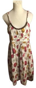Freestyle short dress White/Purple/Mustard/Brown on Tradesy