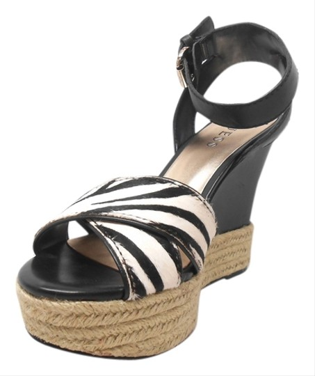 Guess Black/White Wedges