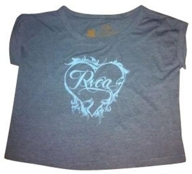 Preload https://item4.tradesy.com/images/rvca-blue-tee-shirt-size-8-m-463-0-0.jpg?width=400&height=650