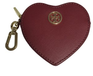 Tory Burch TORY BURCH HEART KEY FOB COIN PURSE