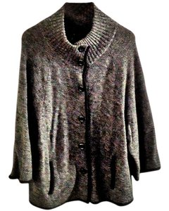 Ann Taylor Wool Chunky Textured Cardigan