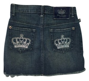 Rock & Republic Denim Victoria Beckham Mini Skirt