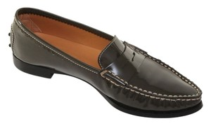 Tod's Olive Green Flats