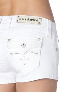 Rock Revival Denim Shorts-Light Wash