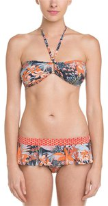 Tory Burch Calathea Print Bikini skirted Bottom
