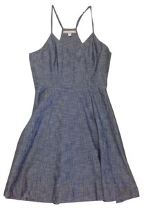Banana Republic short dress Blue Chambray Denim on Tradesy