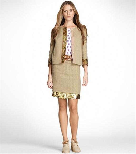 Tory Burch New With Tags New Coat gold Jacket