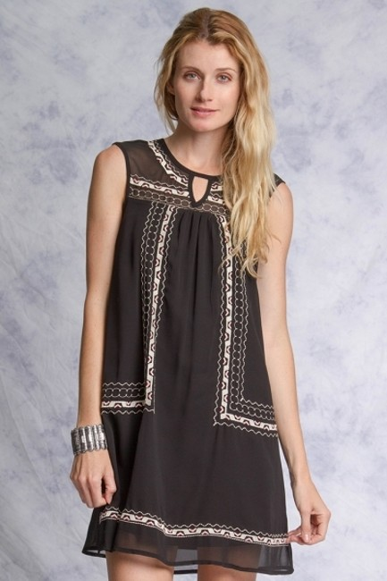 Ya Los Angeles short dress Black on Tradesy