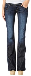 Hudson Jeans Elm Dark Blue Boot Cut Jeans-Dark Rinse