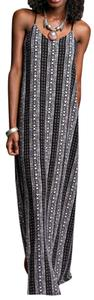 Black Maxi Dress by Ya Los Angeles Sleeveless Maxi