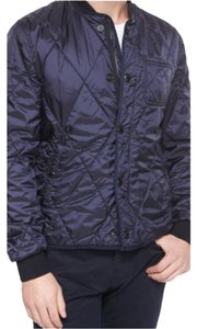 204761a8620 Burberry Quilted Bomber Brit Mens Military Jacket